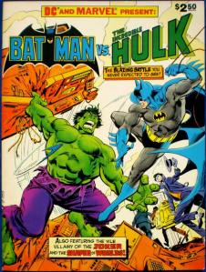 1981年公開された「バットマンvsハルク(Batman vs The Incredible Hulk」
