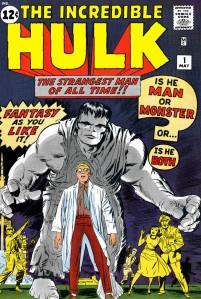 1962年公開されたハルク © 1962 Marvel Characters, Inc. ALL RIGHTS RESERVED.