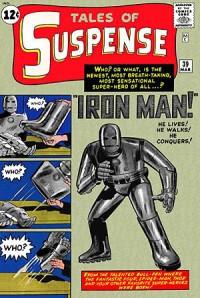 初期のアイアン・マン。この時は、本当に「鉄」だった! © 1963 Marvel Characters, Inc. ALL RIGHTS RESERVED.