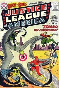 1960年発表されたジャスティス・リーグ © 1960 DC Comics, Inc. ALL RIGHTS RESERVED.