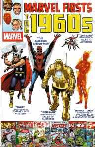 1960年代のマーベル・コミックスのスーパーヒーローたち。http://www.spiderfan.org/comics/images/marvel_firsts/1960s.jpg