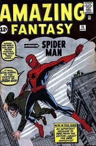 1962年公開されたスパイダーマン © 1962 Marvel Characters, Inc. ALL RIGHTS RESERVED.