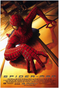 2002年公開したトビー・マクワイア主演の「スパイダーマン」