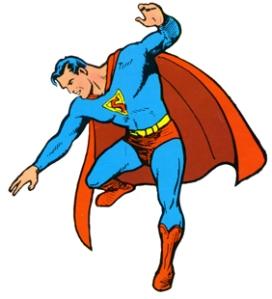 初期スーパーマンの姿 © 1939 DC Characters, Inc. ALL RIGHTS RESERVED.